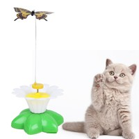 1 Pcs Funny Pet Cat Toys Butterfly Cat Kitten Playing Toys Pet Seat Scratch Toy cat toys interactiveDropshipping