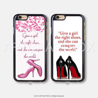 Marilyn Monroe Pink Shoes iPhone 6 case iPhone 6 Plus case iPhone 5S case iPhone 5C case 372