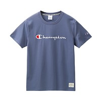 Champion Men's and women's embroidered T-shirt