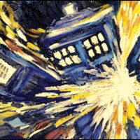 Doctor Who - Exploding Tardis - Wide Poster