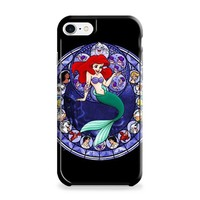 Ariel the Little Mermaid Stained Glass iPhone 7   iPhone 7 Plus Case