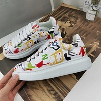 Alexander Mcqueen Graffiti Oversized Sneakers Reference #11