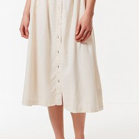 UO Arianna Button-Down Midi Skirt | Urban Outfitters