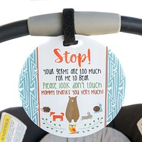 Woodlands Car Seat and Stroller - No Touching Tag