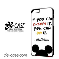 Walt Disney Quote DEAL-11807 Apple Phonecase Cover For Iphone 6/ 6S Plus