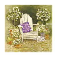countryside style flower wall painting decoration painting scenery hang painting without frame cotton for painting wall painting   09