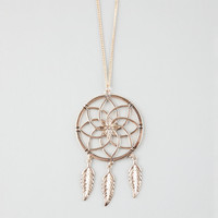 FULL TILT Flower Dream Catcher Necklace | Necklaces