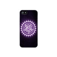 P2705 Black Butler Sebastian Ciel Contract Symbol Case For IPHONE 5/5S