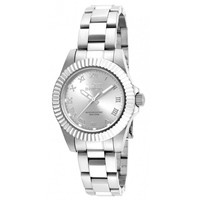 Invicta 16761 Women's Pro Diver Silver Tone Dial Stainless Steel Bracelet Dive Watch
