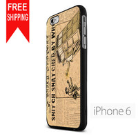 Harry Potter And Doctor Who Tardistm iPhone 6 Case