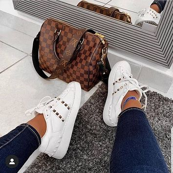 Valentino Rivet casual sports shoes