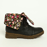 Fold Over Flap Boots