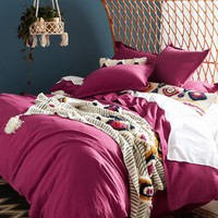 Relaxed Cotton-Linen Duvet