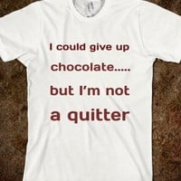 I'M NOT A QUITTER