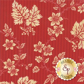 Crazy For Red 14791-14 Red Ivory by Minick Simpson for Moda Fabrics