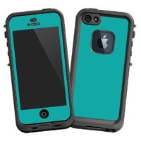 """Turquoise """"Protective Decal Skin"""" for LifeProof fre iPhone 5/5s Case"""