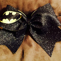 Batman Cheer Bow