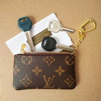 Louis Vuitton Monogram Canvas Key Pouch M62650