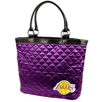 Los Angeles Lakers NBA Quilted Tote (Purple)