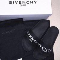 GIVENCHY PARIS andals Comfortable Loose Slippers(3 color) black