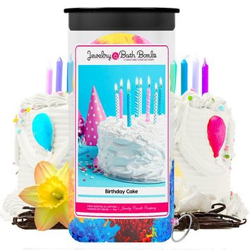 Birthday Cake Jewelry Bath Bombs Twin Pack
