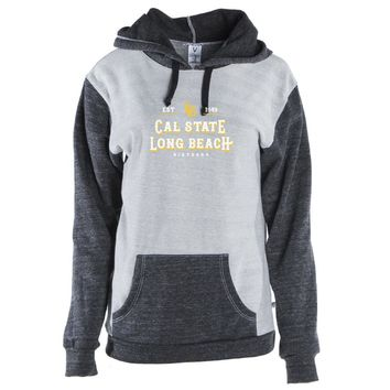 Official NCAA Long Beach State Unisex Kangaroo Pocket Pullover Hoodie