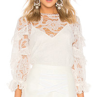 Alexis Ariell Top in Venice Lace | REVOLVE
