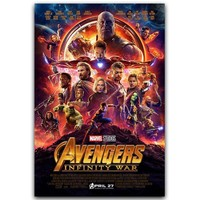 Avengers Infinity War Super Hero Movie Art Silk Poster Print 30x45cm 60x90cm Movie Pictures Poster Living Room Decor