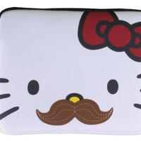 Hello Kitty Mustache IPad Case