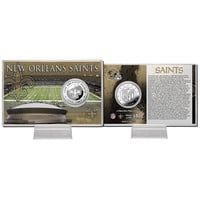 New Orleans Saints Silver Coin Card