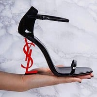 YSL Classic Popular Women High Heels Shoes Sandals