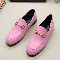 Women Fashion Leather Loafers Shoes