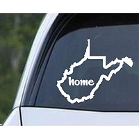 West Virginia Home State Outline WV - USA America Die Cut Vinyl Decal Sticker