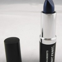Tish & Snooky's MANIC PANIC N.Y.C. Ice Metals After Midnight Blue Lethal Lipstick
