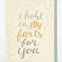 Wit & Whistle For You Card- Assorted One
