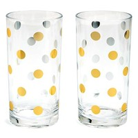 kate spade new york 'pearl place' highball glasses (set of 2)