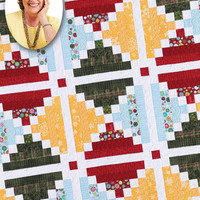 Chimneys and Cornerstones, Eleanor Burns, Quilt in a Day Pattern