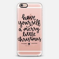 Merry Little Christmas iPhone 6s case by Samantha Ranlet | Casetify