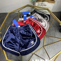 """Adidas"" Women All-match Classic Multicolor Sweatpants Shorts Leisure Pants"