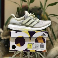 Adidas Ultra Boost Ltd AQ559 Cream Color Size US8-11.5