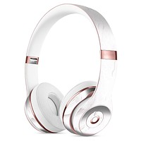 Mixtured Gray 7 Textured Marble Full-Body Skin Kit for the Beats by Dre Solo 3 Wireless Headphones