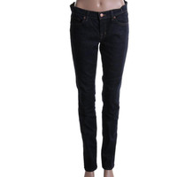 J Brand Womens Low-Rise Denim Skinny Jeans