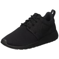 Nike Womens Roshe One Running Shoes (5 B(M) US)( Black/Black/Dark Grey)