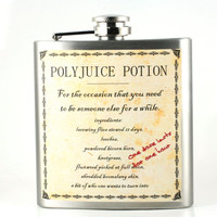 Polyjuice Flask- unique gift for Harry Potter fans - potions