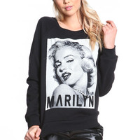 MARILYN FLEECE PULLOVER SWEATSHIRT