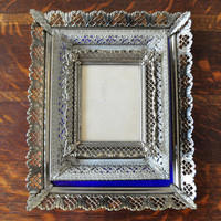 Vintage Metal Picture Frame Collection, Gold Tone Frames, Ornate Picture Frames, Filigree Frame, Photo Frames, 8x10, 5x7, 4x5