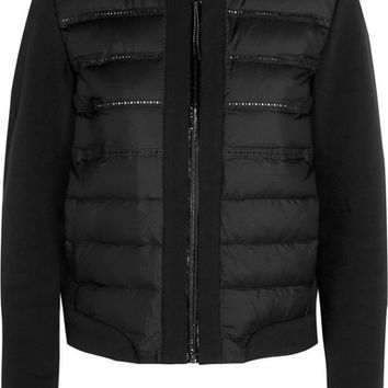 Nike - Aeroloft quilted shell and jersey down jacket