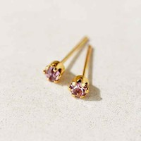 Diament Jewelry X Urban Renewal Rose Crystal Stud Earring