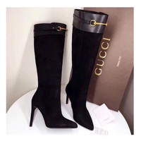 Gucci High Boots Fine And Sharp Women Boots-2