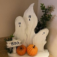 Fall Decor, Reclaimed Wood Ghosts